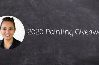 2020 Painting Giveaway: Creating Calm in Chaos for a Local Teacher