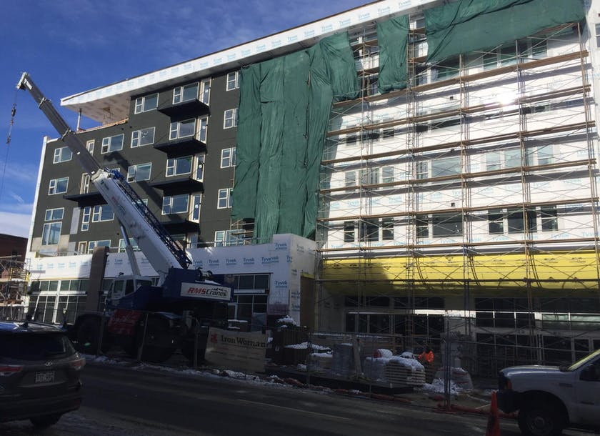 Commercial Painting in Denver: Finishing a Luxury Apartment Building